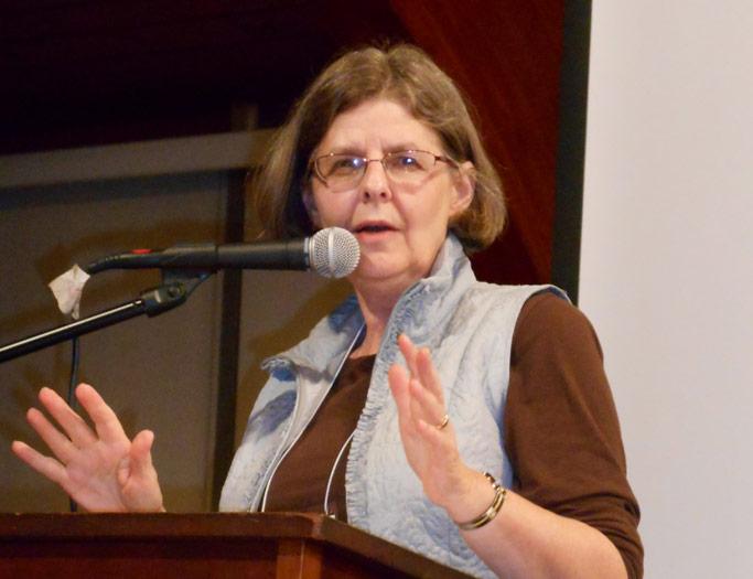 Dawn Ruth Nelson drew women into conversation about their own spiritual lives.