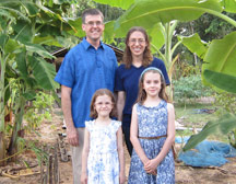 Mark and Sarah Schoenhals family