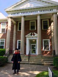 Dr. Aaron Kauffman graduates from Asbury Theological Seminary