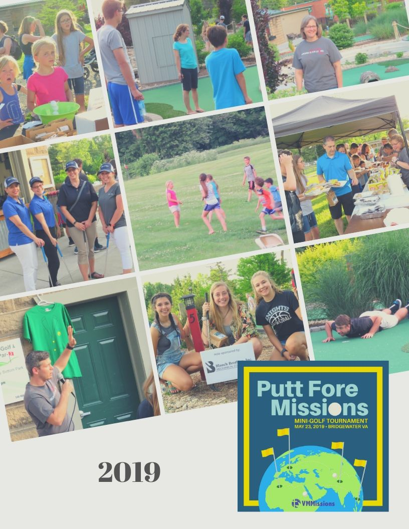 Putt Fore Missions 2019 collage