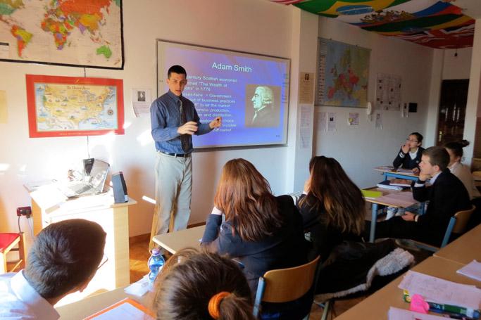 Caleb Benner teaches Economics at LAC.