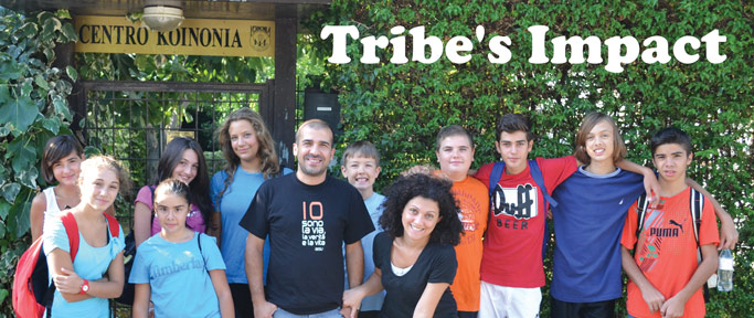 Tribe's Impact at Centro Koinonia.
