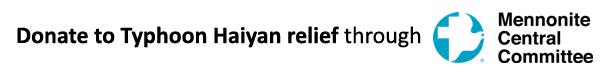 MCC Typhoon Haiyan relief