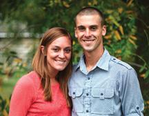 Mitchell and Lauren Yoder