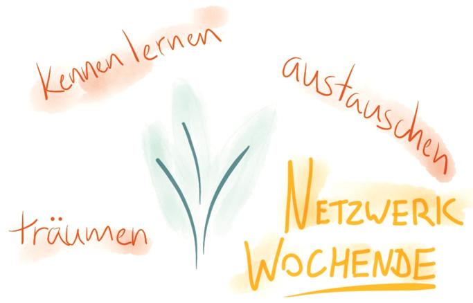 """Network Weekend: dream, learn, exchange."""