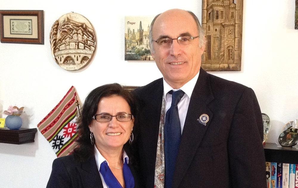 Dini and Klementina Shahini