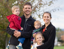 Steve Horst and Bethany Tobin family