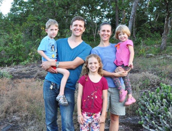 Steve Horst and Bethany Tobin family