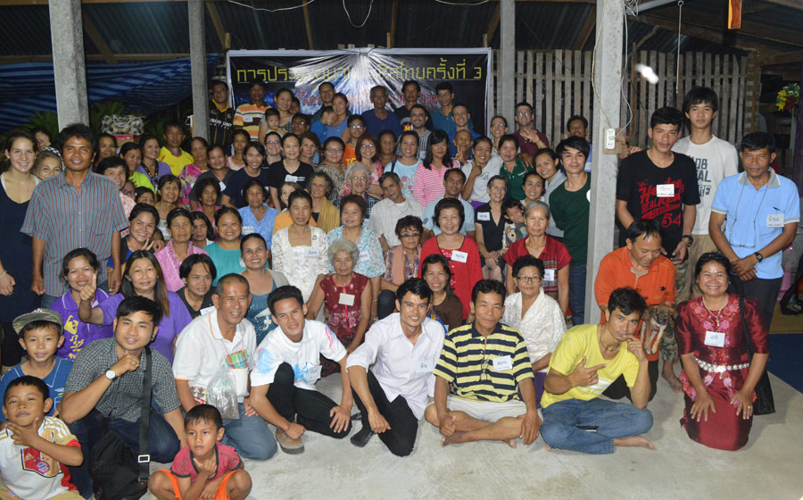 Some of the participants at the Third Thai Anabaptist Gathering. Photo by J*