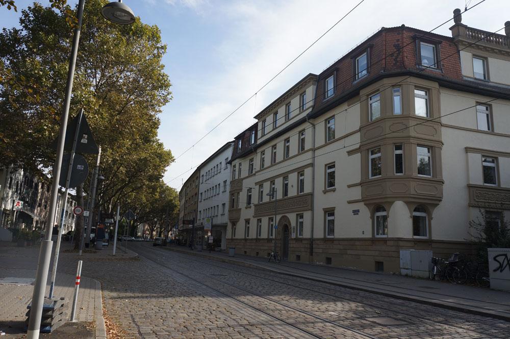 Picture of the Stutzmans apartment building