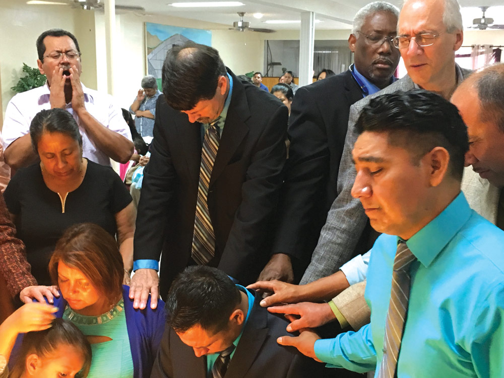 Prayer for Armando Sanchez and his family