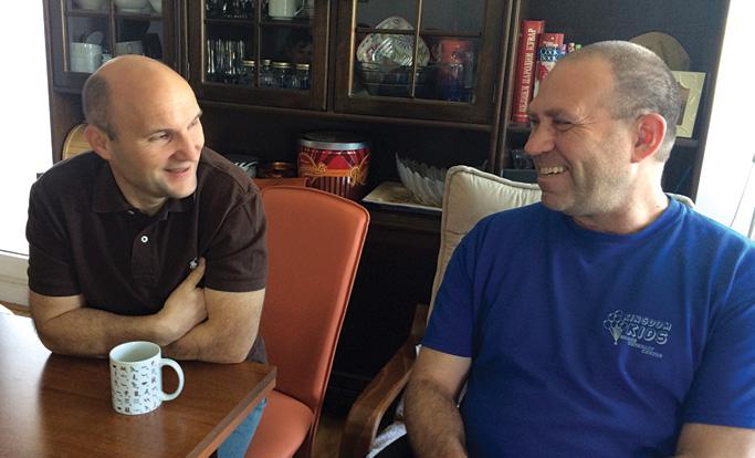 Vladimir Cizmanski and Steve Campbell