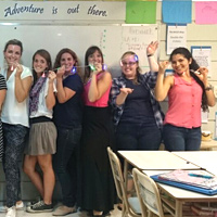 Teachers at Buenos Aires International Christian Academy in Argentina.