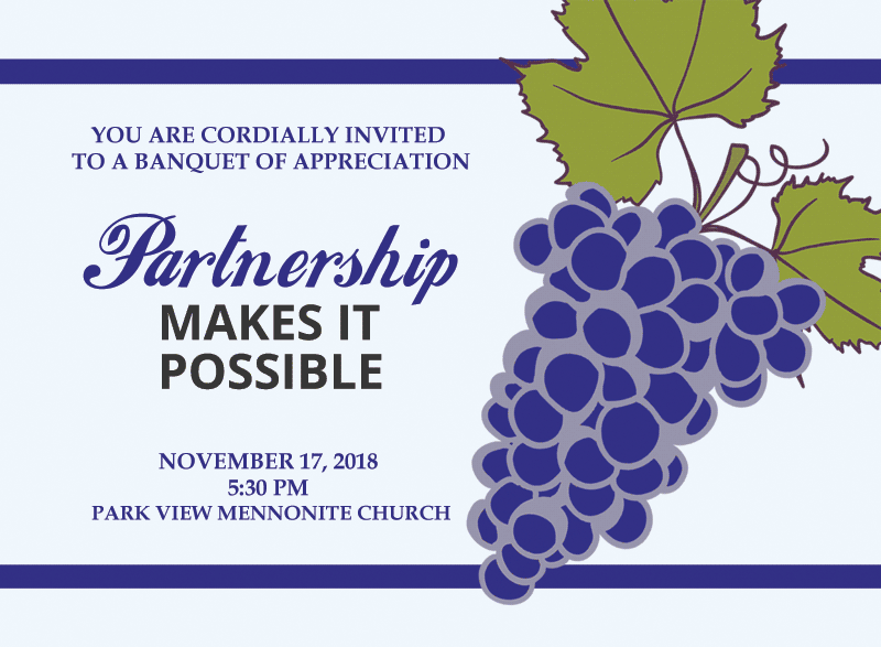 Donor & Prayer Partners Banquet