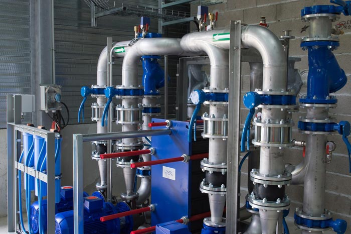 B4T water filter plant: SE Asia