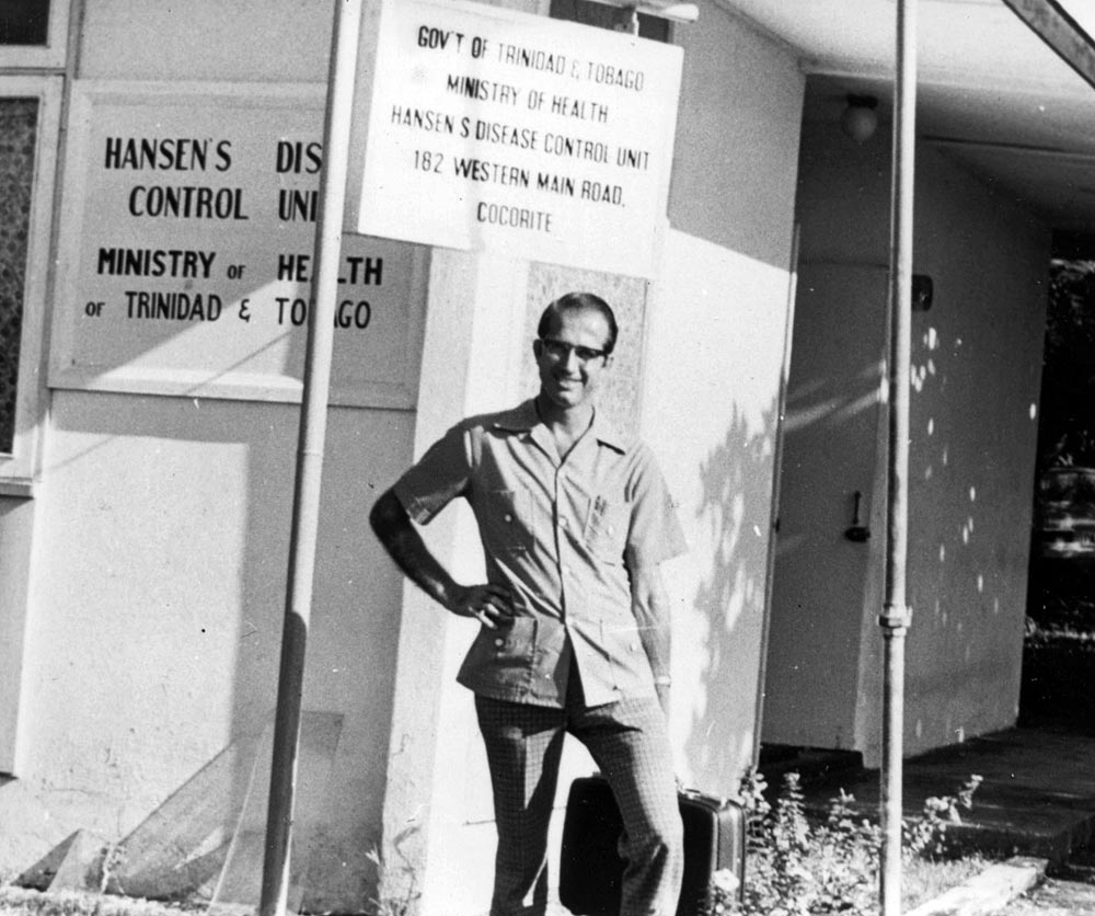 Dr. Richard Keeler served for many years in Trinidad, working to cure the country of Hansen's Disease (leprosy). Photo: VMC Archives