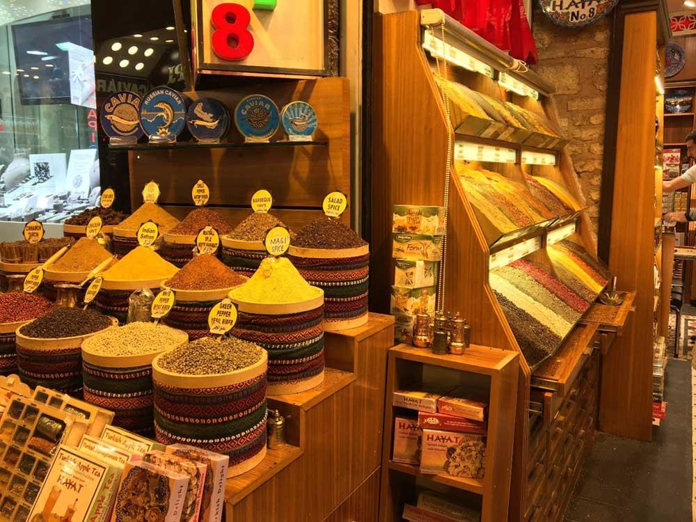 Spice shop in Istanbul, Turkey