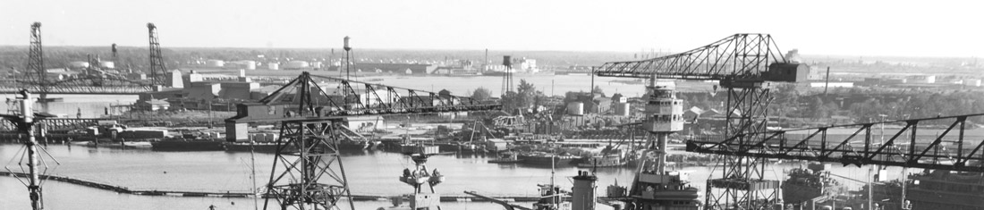Norfolk Naval Shipyard in the 1940s. Photo: Wikipedia