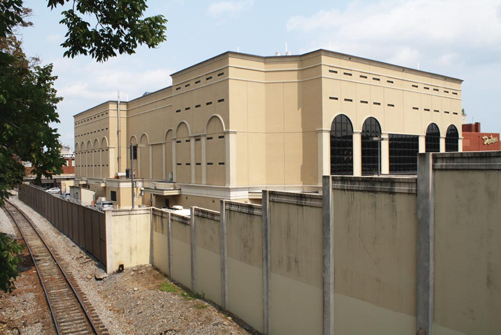 The Rockingham/Harrisonburg Regional Jail, where Jason Wagner serves as chaplain. Photo: Skip Tobin