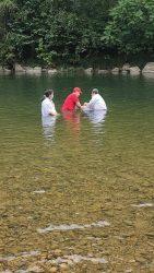 Baptism at Monte Moriah