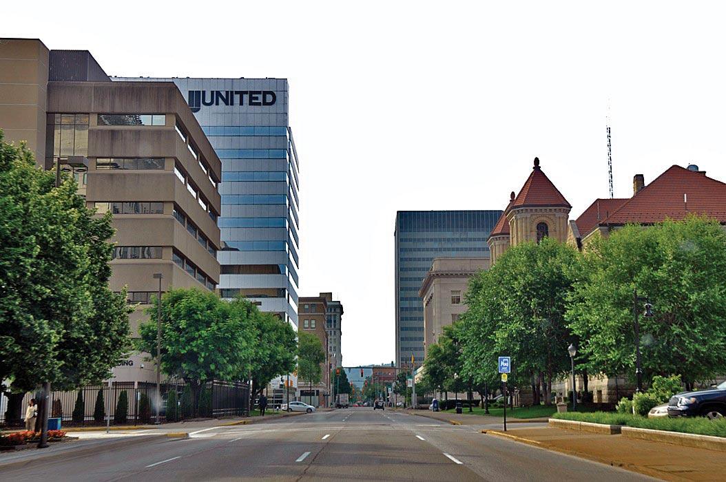 Downtown Charleston, West Virginia